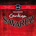 Cantiga Rouge Classique Savarez 510 AR - Cordes classiques