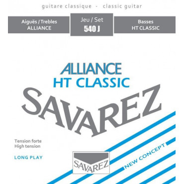 Concert Alliance Savarez 540 J - Jeu de cordes guitare