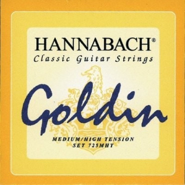 Hannabach 725 MHT - Jeu de cordes guitare classique