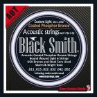 Jeu de cordes BLACK SMITH ACOUSTIQUE 11-52 COATED