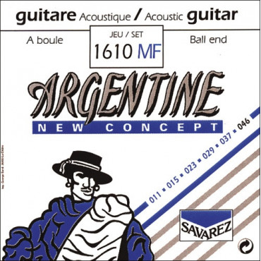 Corde guitare acoustique Argentine 1610MF