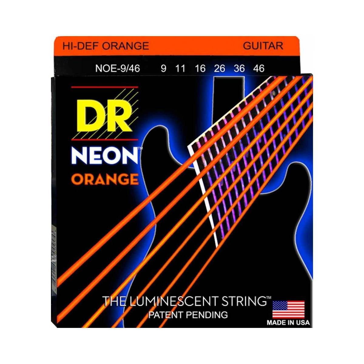 Jeu de Cordes NEON Orange DR 10/46