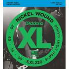 Corde basse D'Addario EXL220