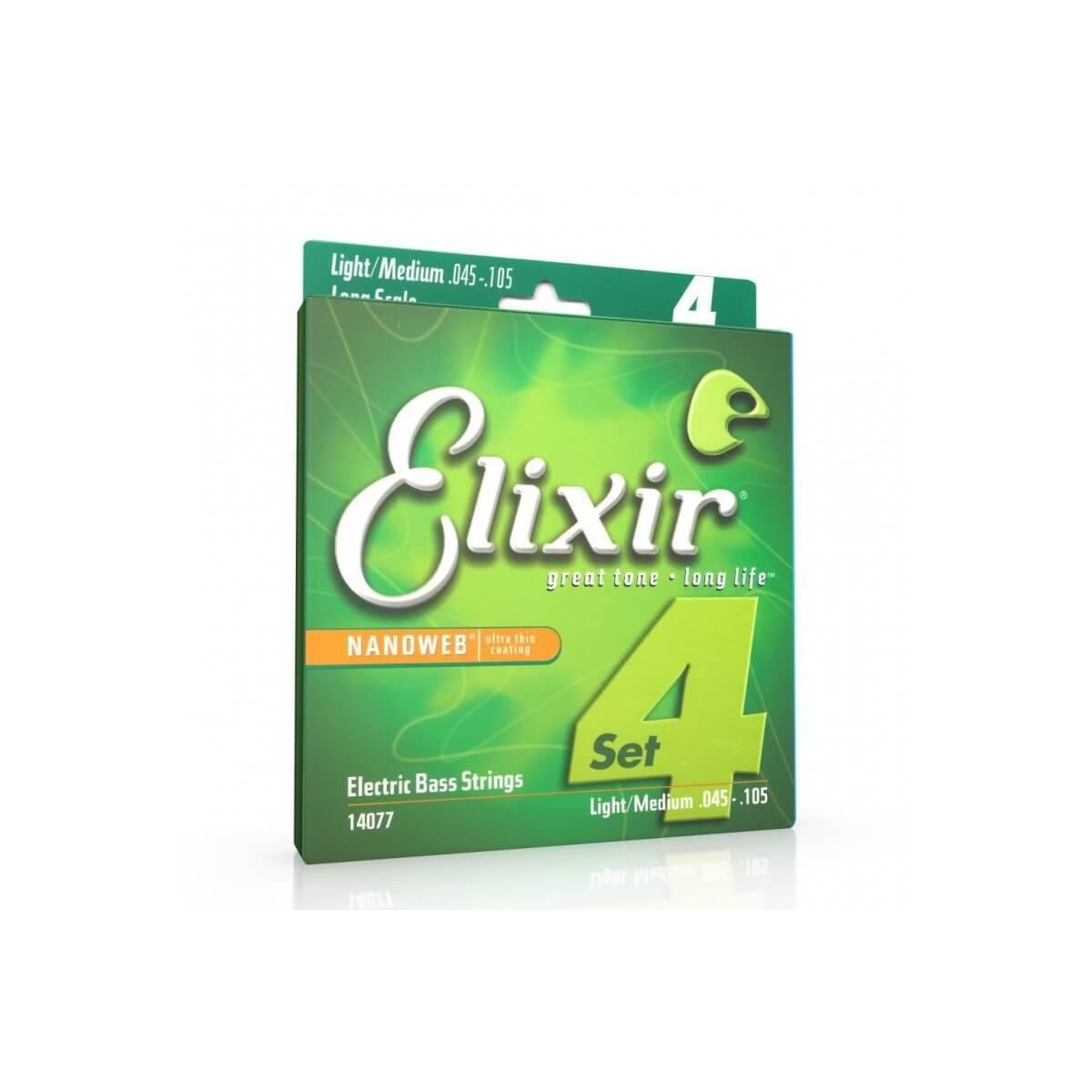 Corde Basse Elixir Nanoweb 14077