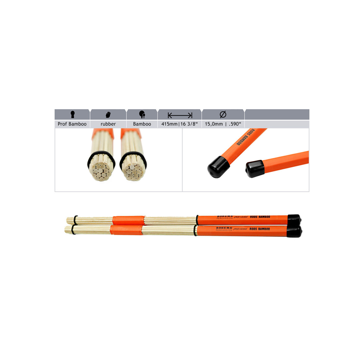 Professional Rods Bambou
