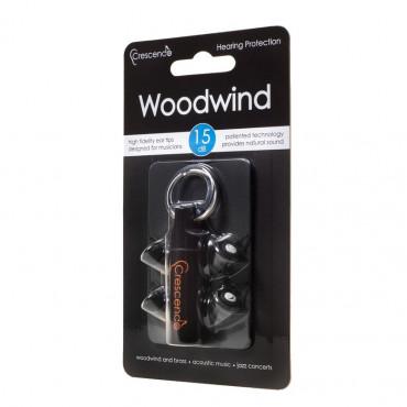 SNR 15dB - Woodwind - Protection Auditive Spéciale Instruments A Vent