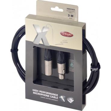 Câble micro XLR f / XLR 3m