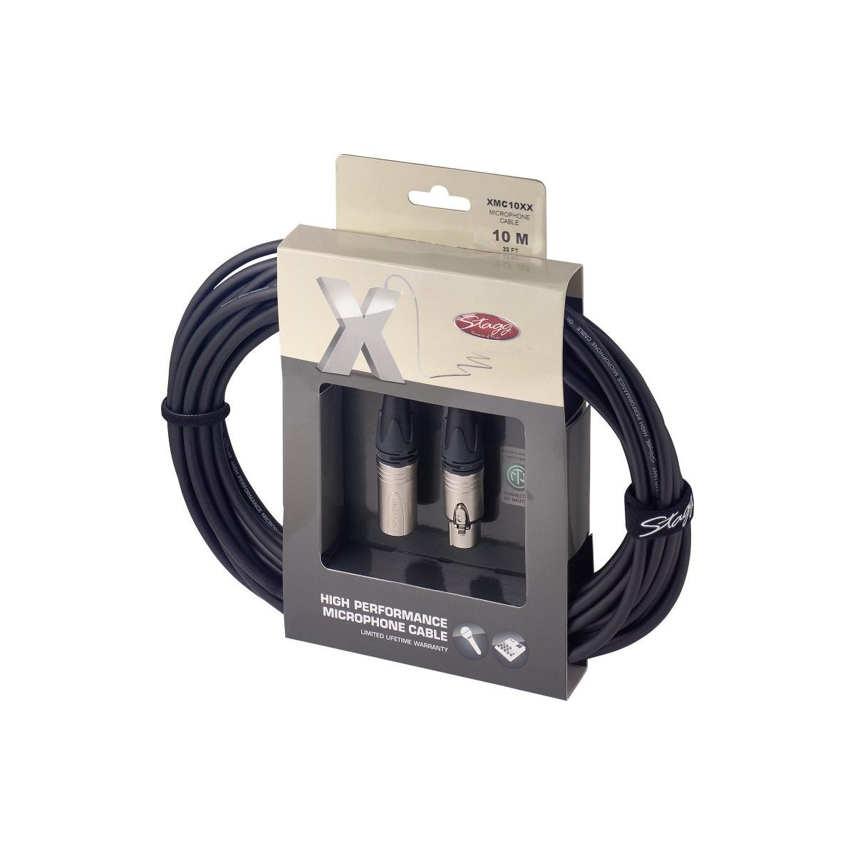 Câble micro XLR f / XLR 10m, série