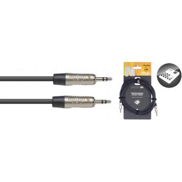 Câble audio série N - mini-jack stéréo / mini-jack stéréo