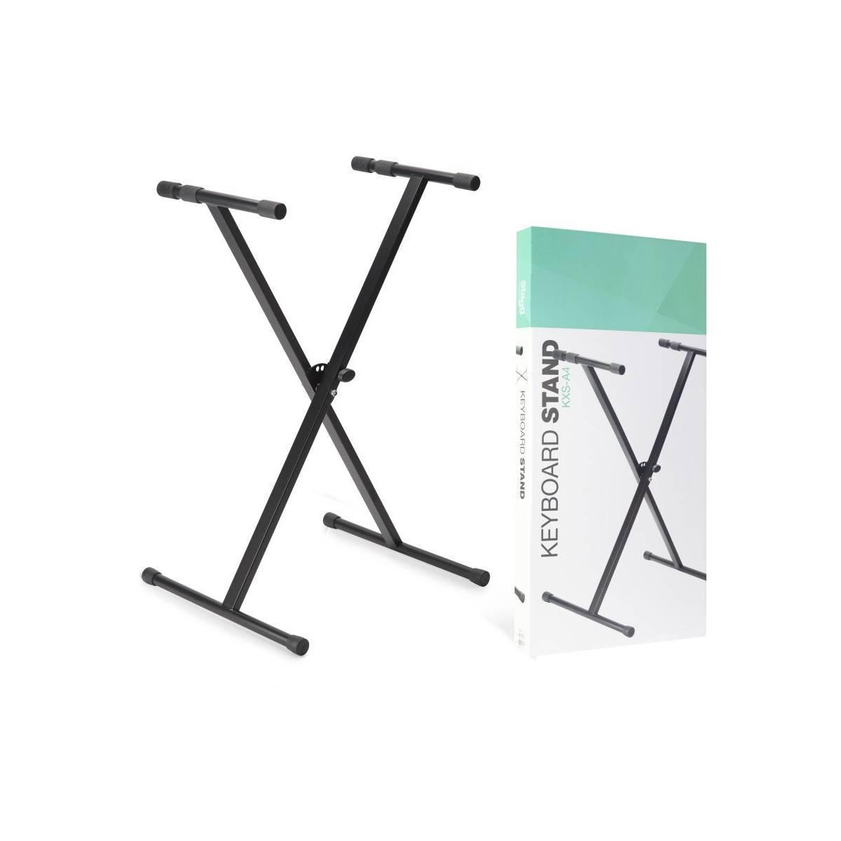 Support en X pour clavier
