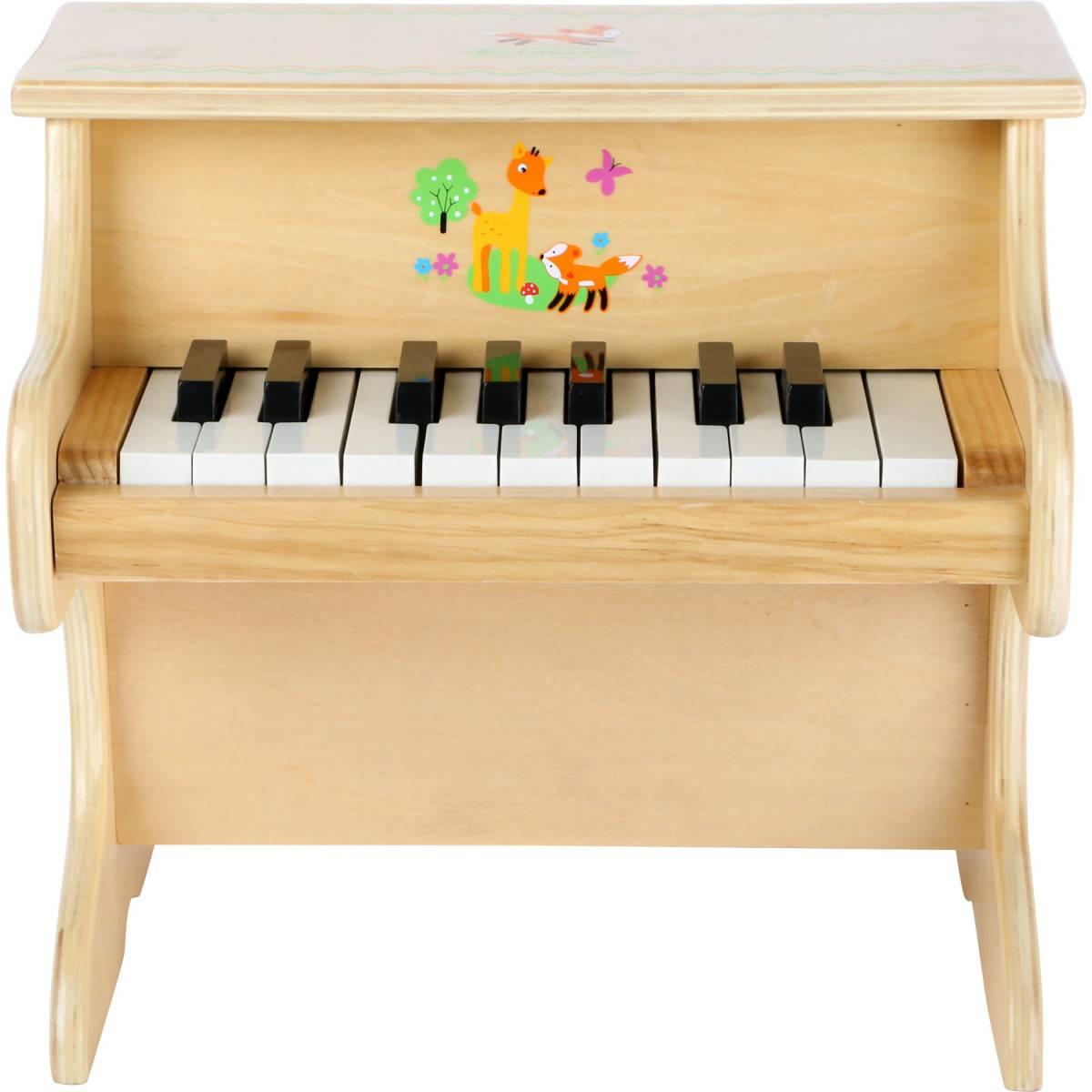 "Piano Bois Jouet ""Petit Renard"""