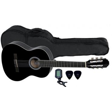 Pack Guitare Classique 3/4 noire - VGS Player Pack