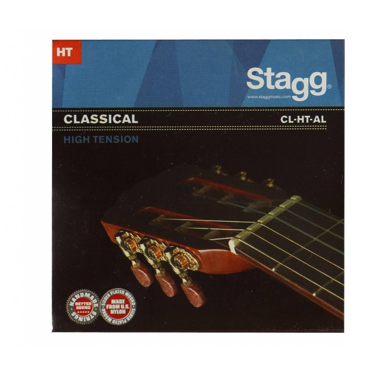 Jeu de cordes guitare classique Haute tension