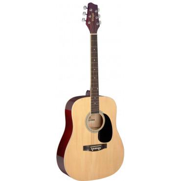 Guitare acoustique dreadnought 3/4 naturel