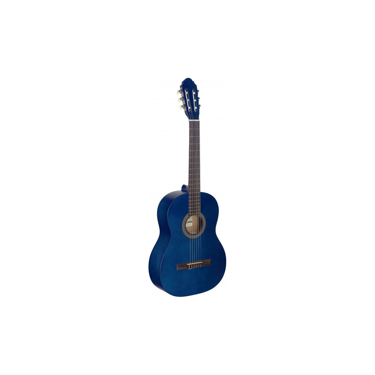 Guitare Classique 4/4 Tilleul Bleu