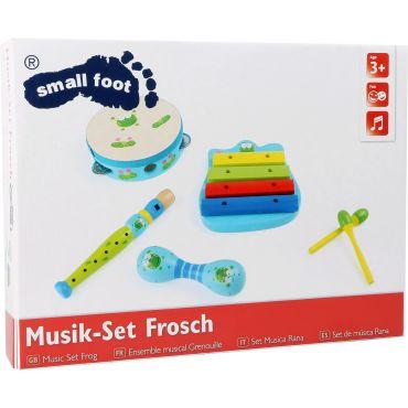 Ensemble 4 instruments bébé Grenouille