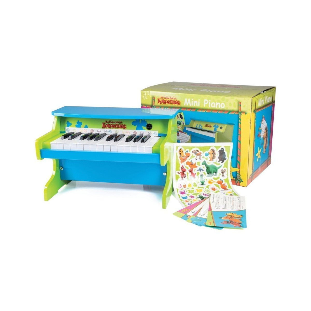 Mini Piano - Coconut le petit Dragon