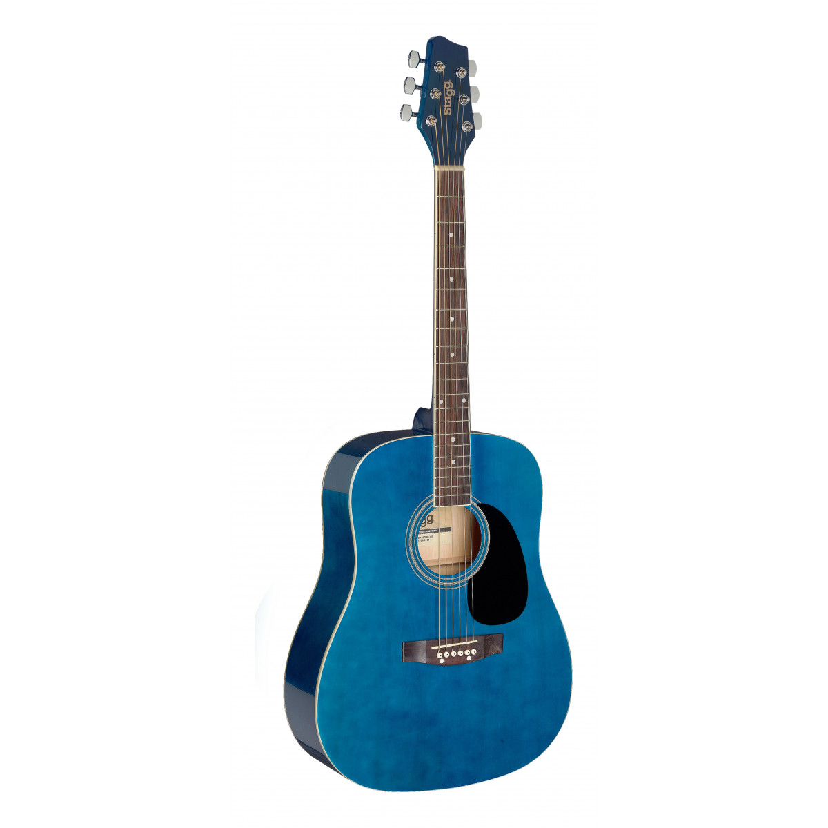 Guitare enfant 3/4 folk bleu