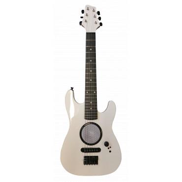 Guitare Electrique 1/2 Blanche