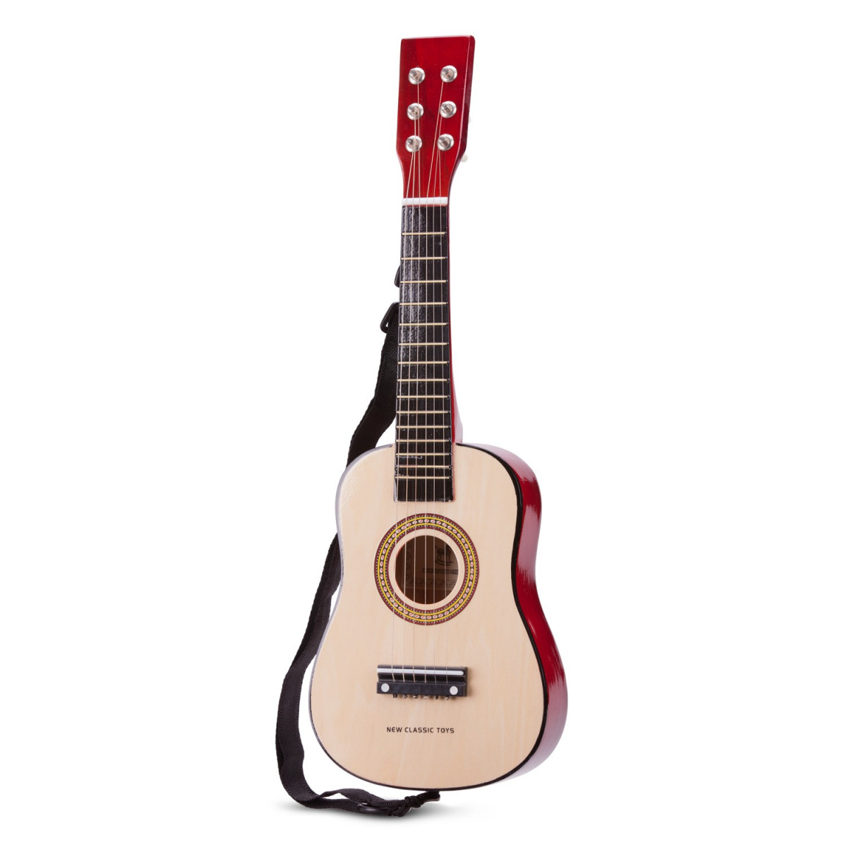 Guitare jouet Brun naturel