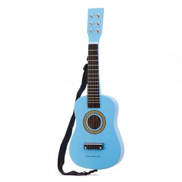 Guitare jouet bleu