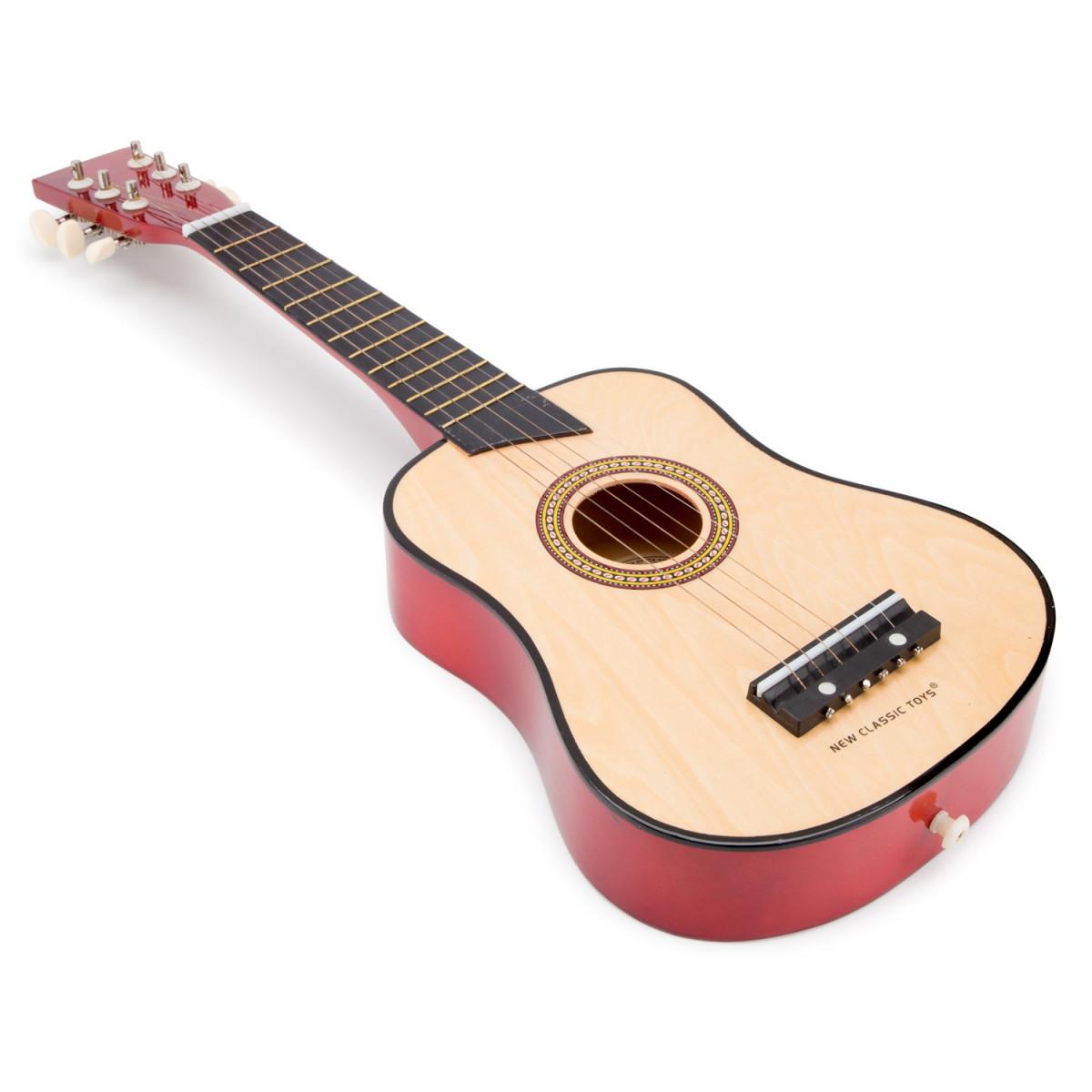 Guitare jouet Deluxe  Brun naturel