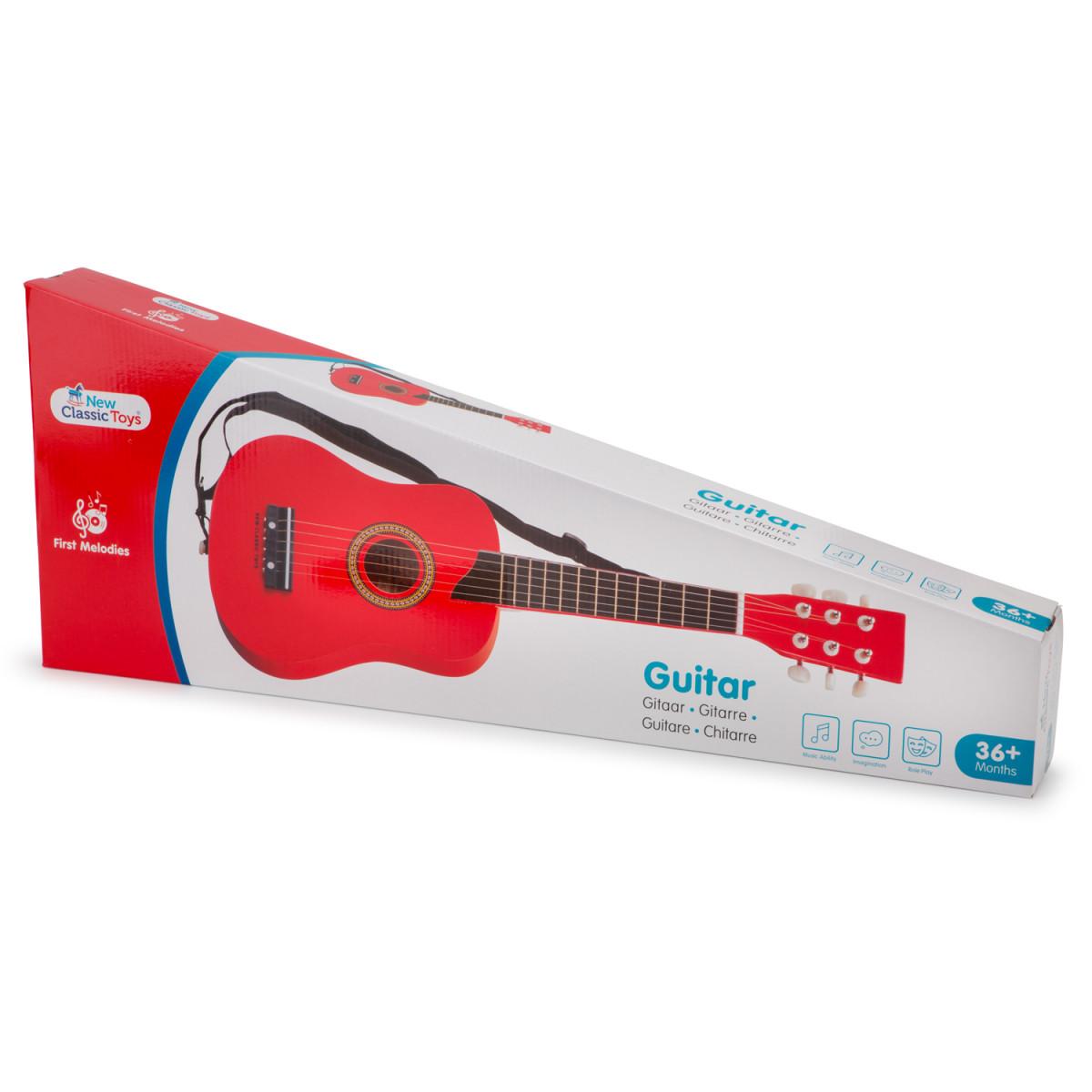 Guitare jouet Deluxe Rouge