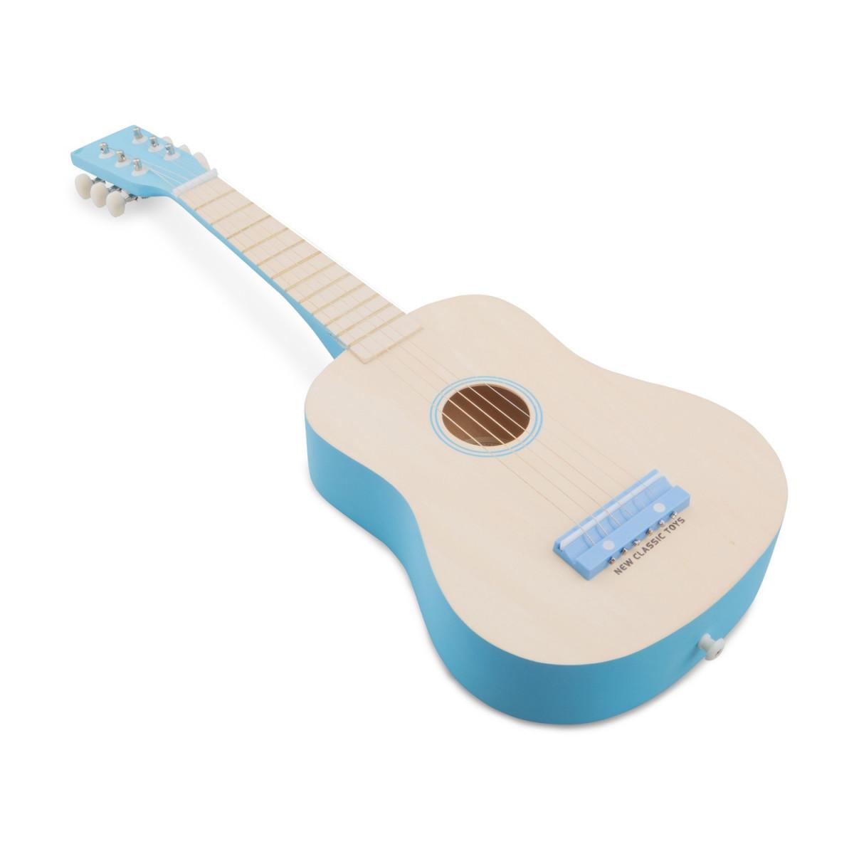 Guitare Naturelle Bleue New Classic Toys 10301