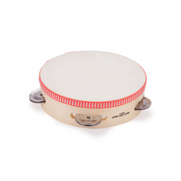 Tambourin Peau & Cymbalettes 15 cm