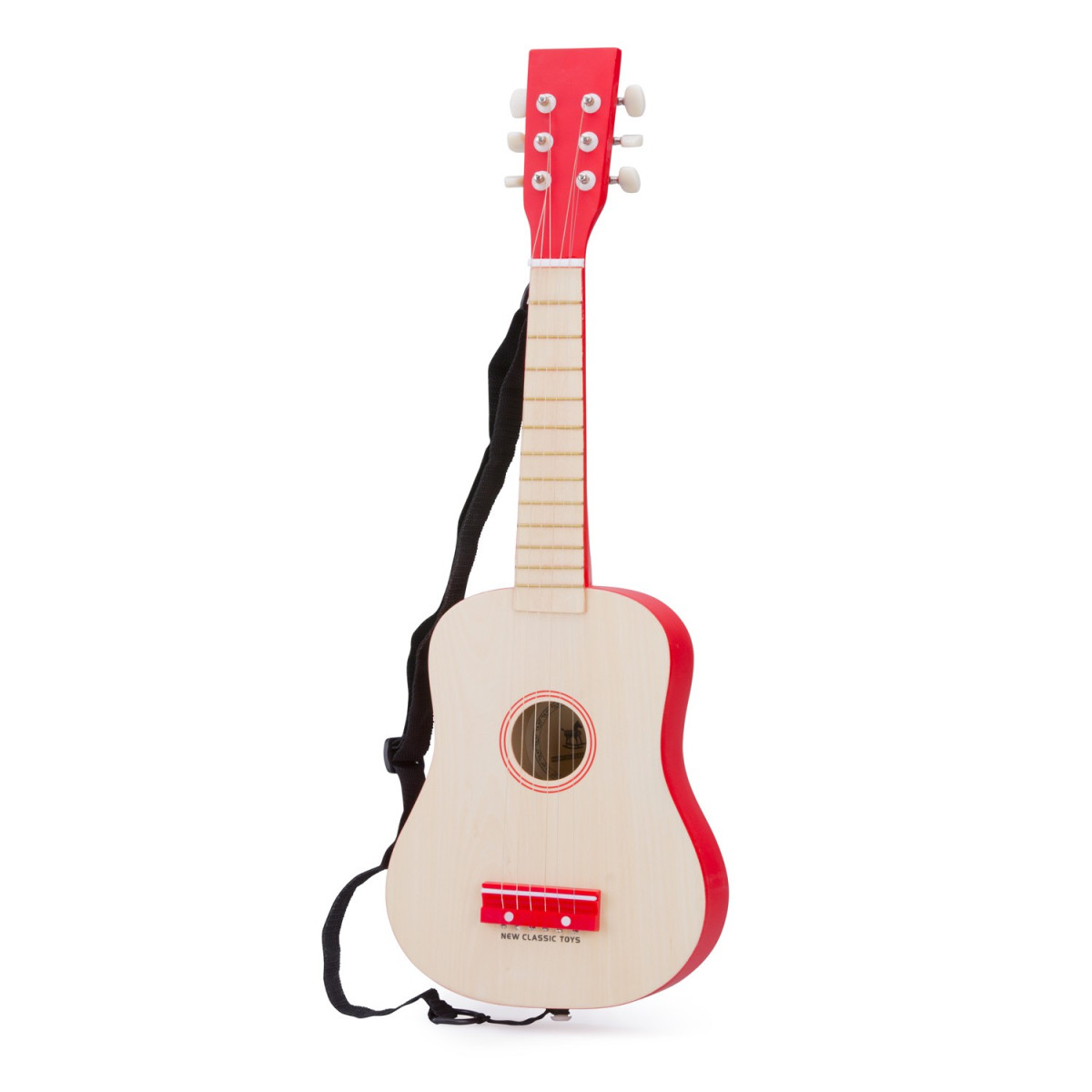 Guitare Naturelle Rouge New Classic Toys 10300