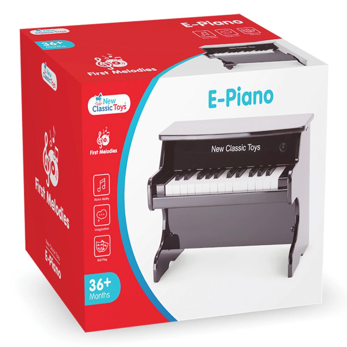Piano-Jouet électrique Noir - 25 notes