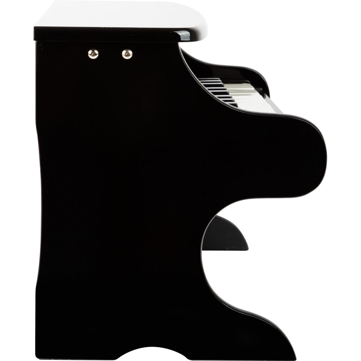 Piano Jouet Noir - 2 Octaves