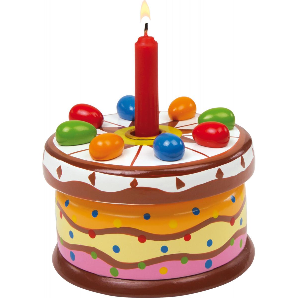 Boîte à musique Happy Birthday