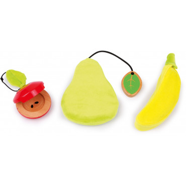 Ensemble 3 instruments bébé Fruits