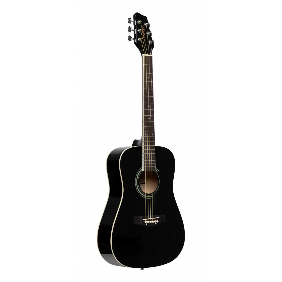 Guitare enfant 3/4 folk - noir