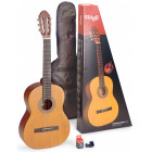 Pack guitare classique 4/4 Tilleul