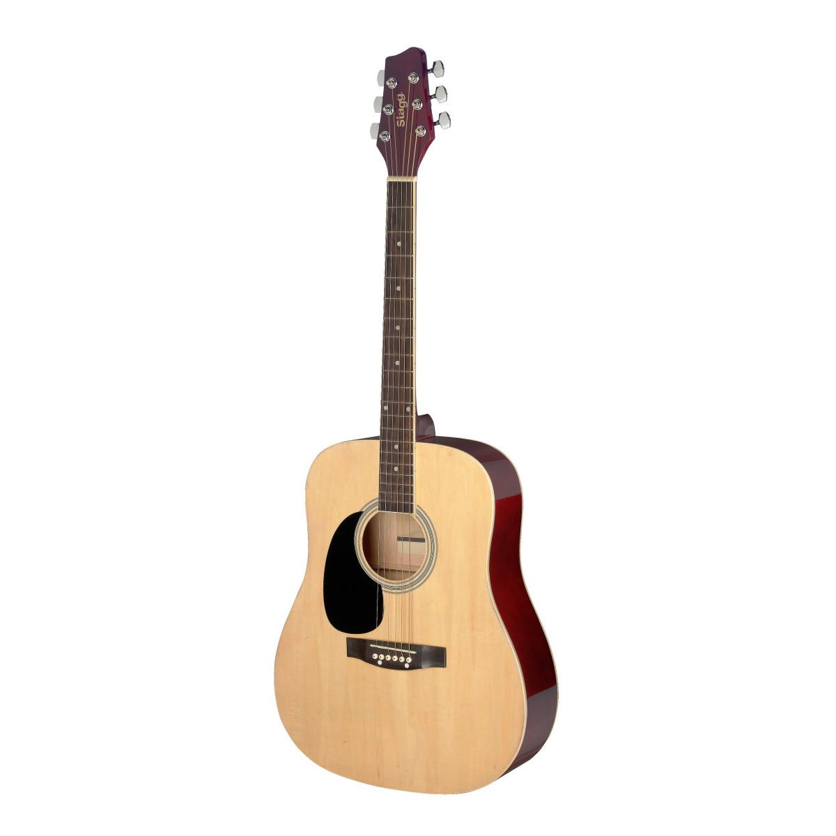 Guitare Gaucher enfant 3/4 folk naturel