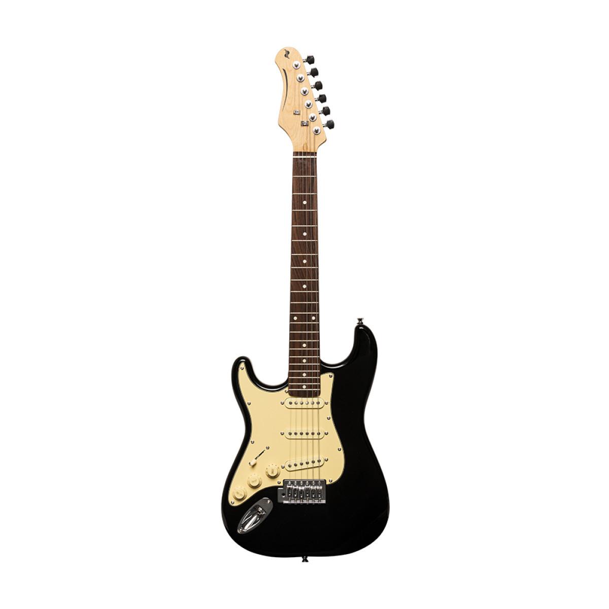 Guitare Electrique 3/4 Noire Gaucher