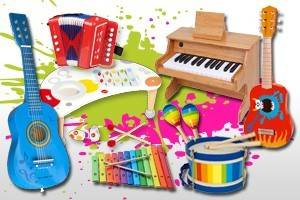 Pianos Jouets 18 Notes
