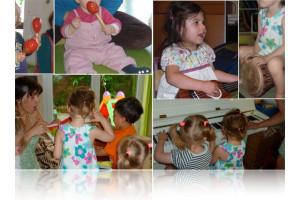 Percussions Eveil Musical Bébés
