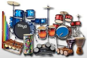 Packs Batterie & Percussions