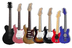 Mini Guitares Electriques