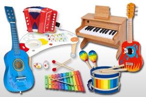 Flûtes jouets
