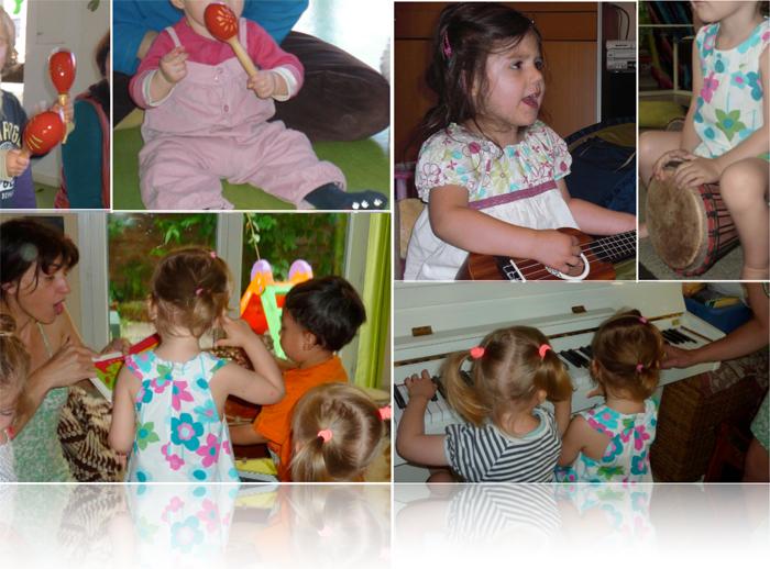 Présentation des séances d'éveil musical de Ludi'Zique
